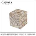 High Quality Shell Tissue Paper Box for Home Decor